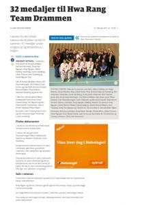 Artikkel Drammens Tidende