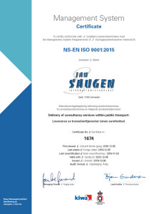 ISO 9001- Sertifikat Jan Saugen gyldg til 20221024_1